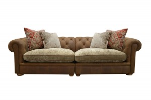 Maxi Sofa in Jin Brown (Option 1)