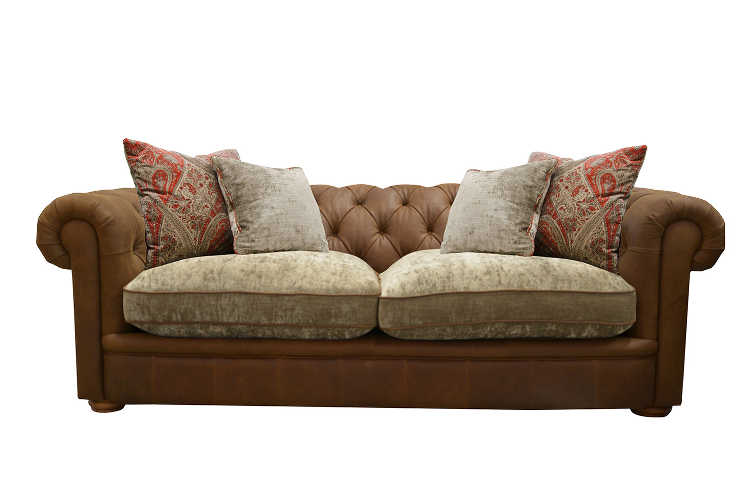 Midi Sofa in Jin Brown (Option 1)