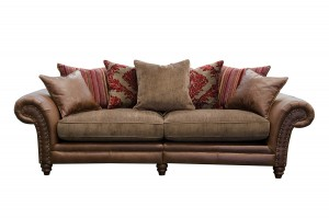 Hudson 4 Seater in Jin Brown (Option 1)