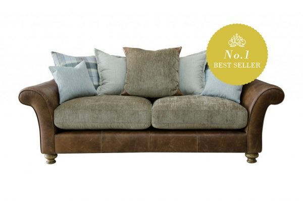 Lawrence 3 Seater in Indiana Tan (Option 1)