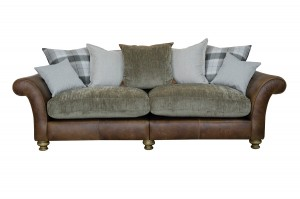 Lawrence 4 Seater in Indiana Tan (Option 1)