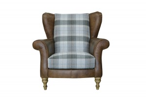 Lawrence Wing Chair in Indiana Tan