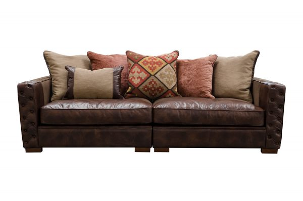 Maxwell Maxi Sofa in Cal Smoke (Option 1)