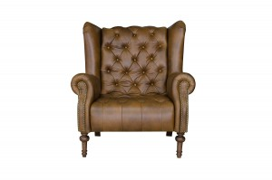 Theo Chair in Indiana Tan