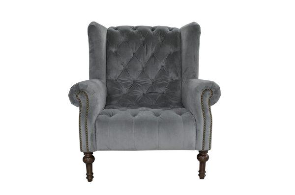 Theo Chair in Plush Slate