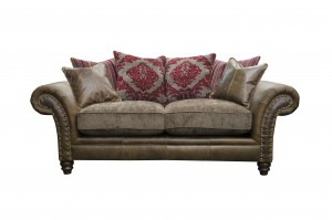 Hudson 2 Seater in Jin Brown (Option 1)