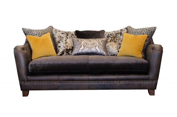 Large Sofa Small Sofa in Venetian Ochre