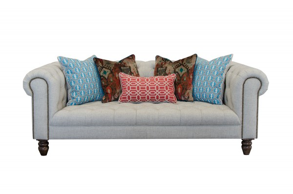Ingrid Midi Sofa in Artisan Plain Stone