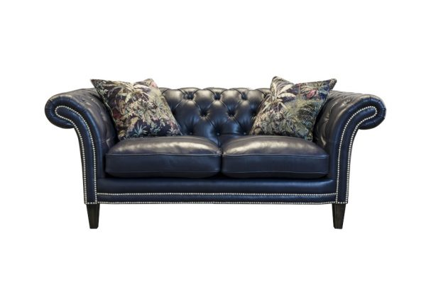Paradise Small Sofa in Aurora Indigo