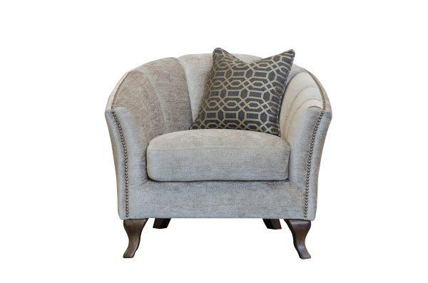 Betsy Chair in Dickens Mushroom