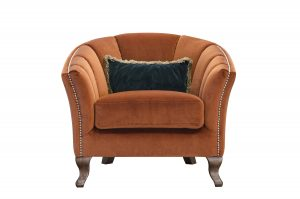 Betsy Chair in Venetian Marmalade