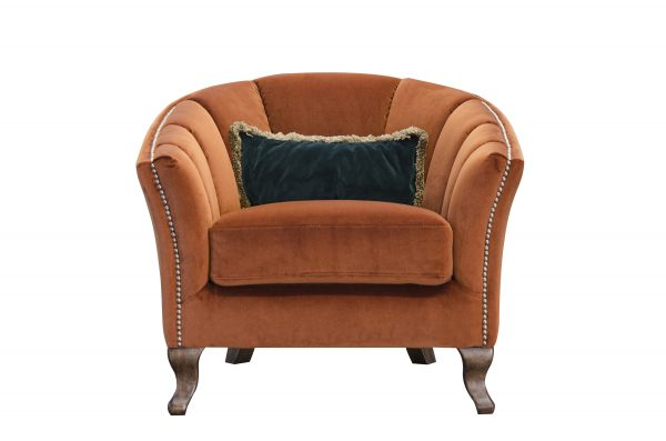 Betsy Chair in Venetian Marmalade