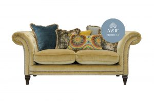 Small Sofa in Venetian Ochre