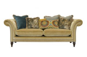 Large Sofa in Venetian Ochre
