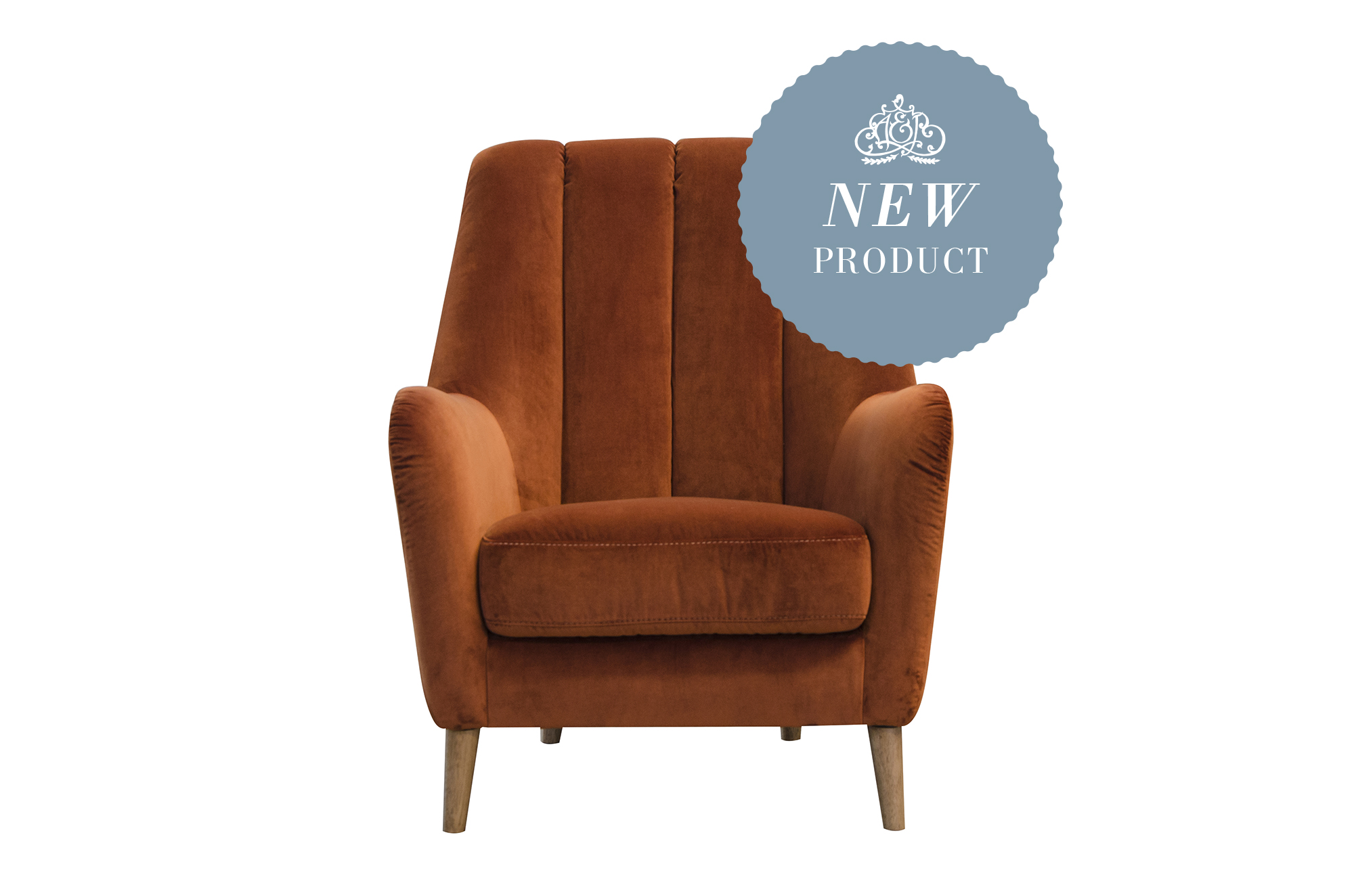 Phoebe Chair in Venetian Marmalade
