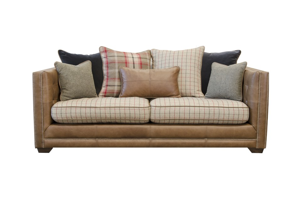 Wallace Midi Sofa in Indiana Tan (Option 1)