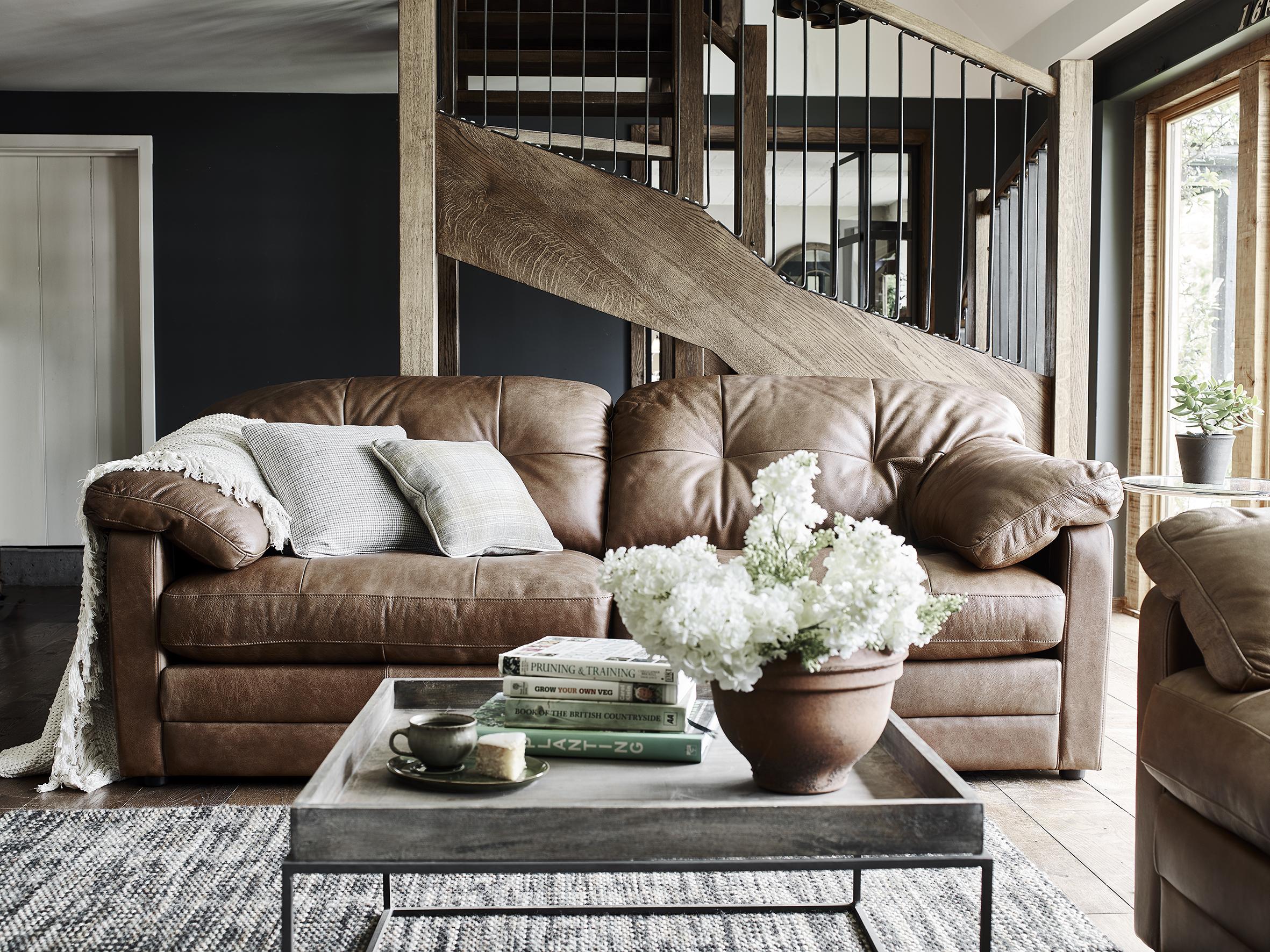 1ef82ceca720 Bailey 3 Seater Sofa - Alexander and James