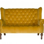 Theo Sofa in Plush Turmeric