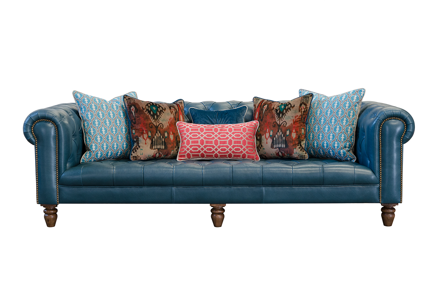 Ingrid Maxi Sofa in Aurora Lagoon