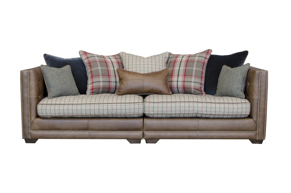 Wallace Maxi Sofa in Indiana Tan (Option 1)